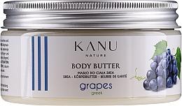 Düfte, Parfümerie und Kosmetik Shea-Körperbutter Griechische Trauben - Kanu Nature Greek Grape Body Butter