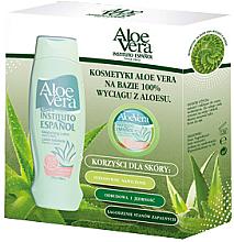 Düfte, Parfümerie und Kosmetik Körperpflegeset Aloe Vera - Instituto Espanol Aloe Vera Set (Körperlotion 500ml + Körpercreme 50ml)