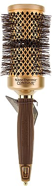 """Runde Haarbürste """"Nanothermic C+I Contour Thermal"""" 52 mm - Olivia Garden Nano Thermic Ceramic + Ion Thermic Contour Thermal d 52 — Bild N1"""