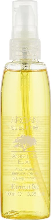 Haarelixier mit Arganöl - Farmavita Argan Sublime Elexir — Bild N2