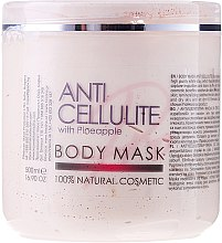 Düfte, Parfümerie und Kosmetik Anti-Cellulite Körpermaske mit Ananas - Sezmar Collection Professional Body Mask Anti Cellulite With Pineapple
