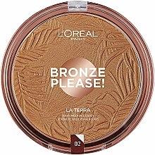 Düfte, Parfümerie und Kosmetik Gesichtsbronzer - L'Oreal Paris La Terra Joli Bronze Bronzer