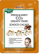 Düfte, Parfümerie und Kosmetik Glättende Gesichtsmaske mit Kakaoextrakt - Celkin Press & Shiny CO2 Creamy Mask