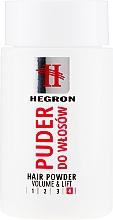 Düfte, Parfümerie und Kosmetik Haaruder für mehr Volumen - Hegron Hair Powder Volume & Lift