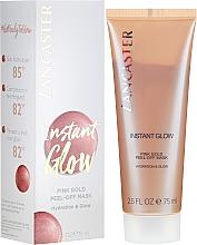 Düfte, Parfümerie und Kosmetik Feuchtigkeitsspendende Peel-Off-Maske für strahlenden Teint - Lancaster Instant Glow Peel-Off Pink Gold Mask