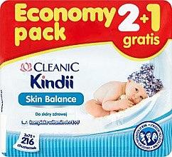 Düfte, Parfümerie und Kosmetik Feuchttücher für Kinder - Cleanic Skin Balance