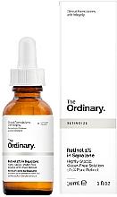 Düfte, Parfümerie und Kosmetik Gesichtsserum mit Retinol 1% - The Ordinary Retinol 1% in Squalane
