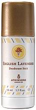 Düfte, Parfümerie und Kosmetik Atkinsons English Lavender - Deostick