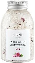 Düfte, Parfümerie und Kosmetik Mineral Badesalz Rose - Kanu Nature Rose Mineral Bath Salt