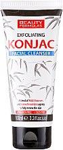 Düfte, Parfümerie und Kosmetik Gesichtsreinigungsgel - Beauty Formulas Exfoliating Konjac Facial Cleanser