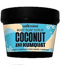 Düfte, Parfümerie und Kosmetik Peelingseife mit Kokos und Kumquat - Cafe Mimi Scrub-Soap