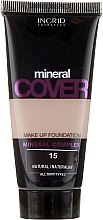Düfte, Parfümerie und Kosmetik Foundation mit Mineralien - Ingrid Cosmetics Mineral Cover Make Up Foundation