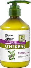 Düfte, Parfümerie und Kosmetik Beruhigender Conditioner für empfindliche Kopfhaut mit Lakritzenxtrakt - O'Herbal