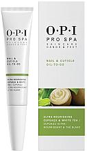 Düfte, Parfümerie und Kosmetik Nagel- und Nagelhautöl mit Cupuacu und weißem Tee - O.P.I. ProSpa Nail & Cuticle Oil To Go