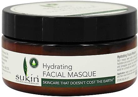 Feuchtigkeitsspendende Crememaske - Sukin Hydrating Facial Masque — Bild N1
