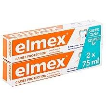 Düfte, Parfümerie und Kosmetik Zahnpasta Duo-Pack - Elmex Toothpaste Caries Protection (Zahnpasta 2x75ml)