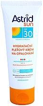 Düfte, Parfümerie und Kosmetik Feuchtigkeitsspendende Sonnenschutzcreme für das Gesicht SPF 30 - Astrid Sun Moisturizing Face Cream SPF30