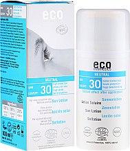 Düfte, Parfümerie und Kosmetik Sonnenschutzende Lotion, aromafrei SPF 30 - Eco Cosmetics Sun Lotion SPF 30