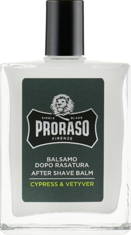 After Shave Balsam - Proraso Cypress & Vetiver After Shave Balm — Bild N2