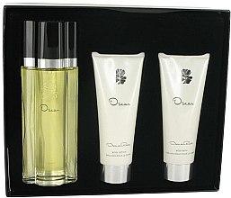 Düfte, Parfümerie und Kosmetik Oscar de la Renta Oscar - Duftset (Eau de Toilette 100ml + Körperlotion 100ml + Duschgel 100ml)