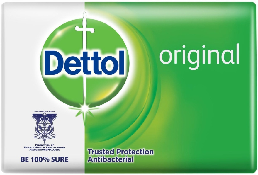 Antibakterielle Seife mit Kiefernduft - Dettol Anti-bacterial Original Bar Soap — Bild N1