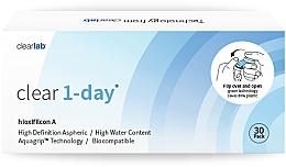 Düfte, Parfümerie und Kosmetik Bionische Tageslinsen 30 St. - Clearlab Clear 1-Day