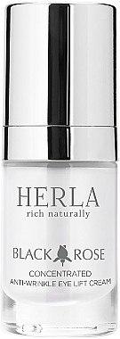 Konzentrierte Anti-Falten Augencreme - Herla Black Rose Concentrated Anti-Wrinkle Eye Lift Cream — Bild N1