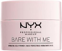 Düfte, Parfümerie und Kosmetik Feuchtigkeitsspendende Gel Make-up Base - NYX Professional Makeup Bare With Me