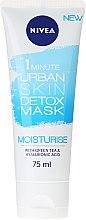 Düfte, Parfümerie und Kosmetik Gesichtsmaske - Nivea Daily Essentials 1 Minute Urban Detox Moisturise Mask