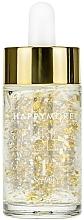 Düfte, Parfümerie und Kosmetik Leichtes ölfreies Gesichtsserum mit natürlichem Kollagen, Hyaluronsäure, 24K Gold und Silber - Happymore Pure Gold Serum 1