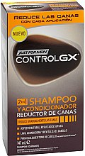 Düfte, Parfümerie und Kosmetik 2in1 Shampoo und Conditioner für graues Haar - Just For Men ControlGX