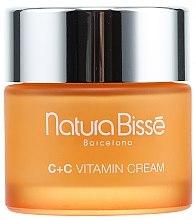 Düfte, Parfümerie und Kosmetik Straffende Creme mit Vitaminen für normale und trockene Haut - Natura Bisse C+C Vitamin Firming Cream SPF 10