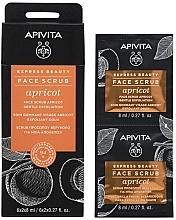 Düfte, Parfümerie und Kosmetik Mildes Gesichtspeeling mit Aprikose - Apivita Express Beauty Face Scrub Apricot