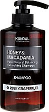 Erfrischendes Shampoo mit rosa Grapefruit - Kundal Honey & Macadamia Pink Grapefruit Shampoo — Bild N3