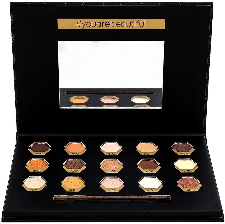 Lidschatten-Palette - Cosmetic 2K Polygon Eyeshadow Palette — Bild N1