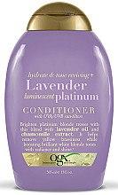 Düfte, Parfümerie und Kosmetik Conditioner mit Lavendelöl für coloriertes Haar - OGX Lavender Luminescent Platinum Conditioner