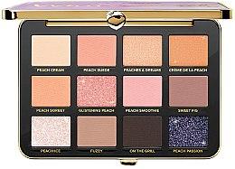 Düfte, Parfümerie und Kosmetik Lidschatten-Palette - Too Faced White Peach Shadow Palette