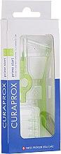 Düfte, Parfümerie und Kosmetik Interdentalbürsten-Set mit 2 Halter Prime Start CPS 011 grün - Curaprox