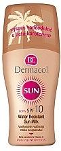 Düfte, Parfümerie und Kosmetik Körper Sonnenschutzmilch - Dermacol Sun Milk SPF 10