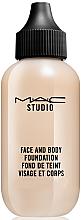 Düfte, Parfümerie und Kosmetik Foundation für Gesicht und Körper - M.A.C Studio Face and Body Foundation