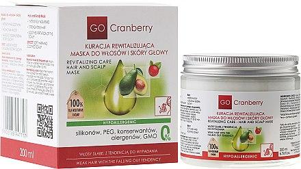 Revitalisierende Maske für Haar und Kopfhaut mit Moosbeere - GoCranberry Revitalizing Hair Mask — Bild N1