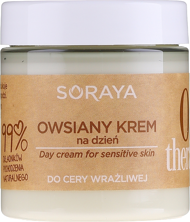 Tagescreme mit Haferextrakt für empfindliche Haut - Soraya Oat Therapy Day Cream — Bild N2