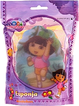 Düfte, Parfümerie und Kosmetik Kinder-Badeschwamm Dora 169-12 rosa - Suavipiel Dora Bath Sponge