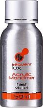 Düfte, Parfümerie und Kosmetik Acryl-Flüssigkeit - Silcare Sequent Lux Acrylic Monomer Fast Violet