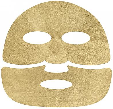 Tuchmaske für das Gesicht mit goldenen Partikeln - Holika Holika Prime Youth Gold Caviar Gold Foil Mask — Bild N3