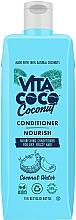 Düfte, Parfümerie und Kosmetik Pflegender Conditioner für trockenes und krauses Haar mit Kokoswasser - Vita Coco Nourish Coconut Water Conditioner