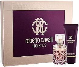 Düfte, Parfümerie und Kosmetik Roberto Cavalli Florence - Duftset (Eau de Parfum 50ml + Körperlotion 75ml)
