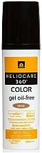 Düfte, Parfümerie und Kosmetik Getöntes Sonnenschutzgel mit LSF 50 - Cantabria Labs Heliocare 360 Gel Oil Free Color