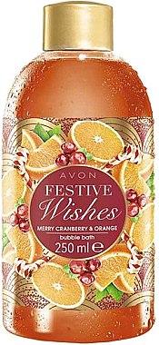 Schaumbad mit Cranberry- und Orangenduft - Avon Festive Wishes Cranberry & Orange Bubble Bath — Bild N1