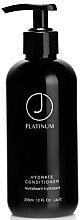 Düfte, Parfümerie und Kosmetik Feuchtigkeitsspendende Haarspülung - J Beverly Hills Platinum Hydrate Conditioner
